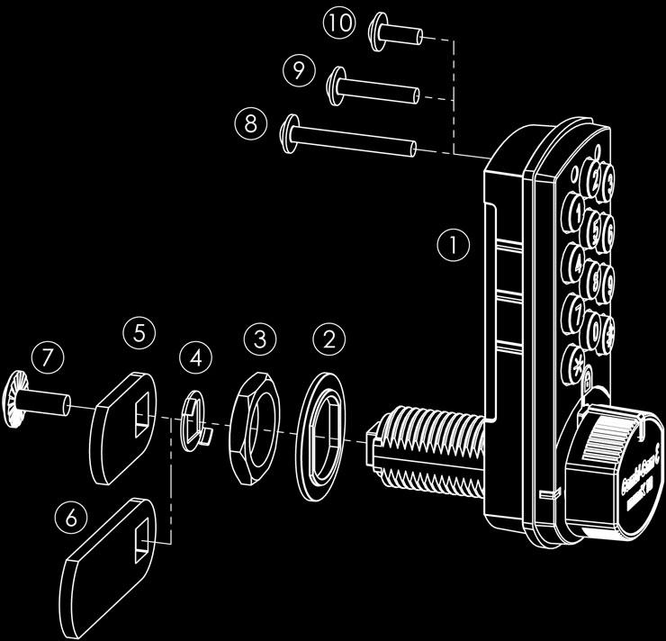 Instructions Code Locks Code Lock Electronic Code Locks