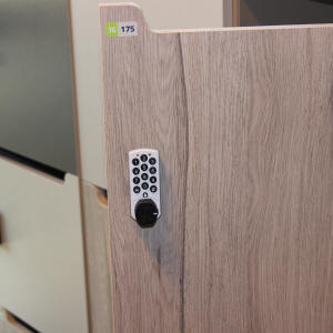 electronic locker cam lock