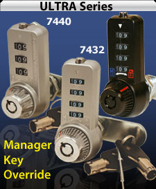 Combination Cam Locks